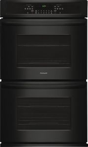 "FFET2726TB Frigidaire  27"" Electric Double Wall Oven with Ready-Select Controls and Self-Cleaning - Black"
