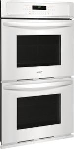 """FFET2726TW Frigidaire  27"""" Electric Double Wall Oven with Ready-Select Controls and Self-Cleaning - White"""