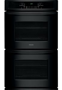 "FFET3026TB Frigidaire 30""  Built-In Electric Double Wall Oven with Self-Cleaning and Even Baking Technology - Black"