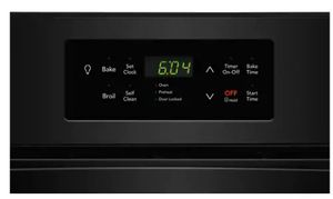 """FFEW2426UB Frigidaire 24"""" Single Electric Wall Oven with VariBroil Temperature Control and Easy To Use Ready Select Controls - Black"""
