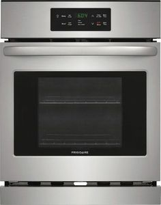 "FFEW2426US Frigidaire 24"" Single Electric Wall Oven with VariBroil Temperature Control and Easy To Use Ready Select Controls - Stainless Steel"