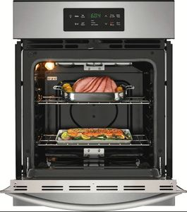 """FFEW2426US Frigidaire 24"""" Single Electric Wall Oven with VariBroil Temperature Control and Easy To Use Ready Select Controls - Stainless Steel"""