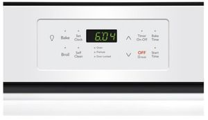 "FFEW2426UW Frigidaire 24"" Single Electric Wall Oven with VariBroil Temperature Control and Easy To Use Ready Select Controls - White"