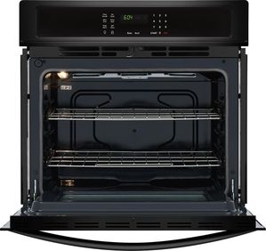 "FFEW2726TB Frigidaire 27"" Built-In Single Electric Wall Oven with Self-Cleaning and Even Baking Technology - Black"