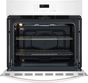 "FFEW2726TW Frigidaire 27"" Built-In Single Electric Wall Oven with Self-Cleaning and Even Baking Technology - White"