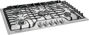 "FFGC3626SS Frigidaire 36"" Gas Cooktop with 5 Sealed Burners and Ready-Select Controls - Stainless Steel"