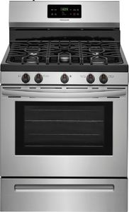 "FFGF3054TS Frigidaire 30"" Freestanding Gas Range with Quick Boil and Sealed Gas Burners - Stainless Steel"