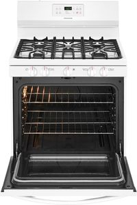 "FFGF3054TW Frigidaire 30"" Freestanding Gas Range with Quick Boil and Sealed Gas Burners - White"