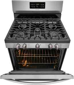 """FFGF3056TS Frigidaire 30"""" Freestanding Gas Range with Quick Boil and Sealed Gas Burners - Stainless Steel"""