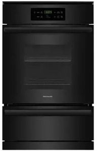 "FFGW2426UB Frigidaire 24"" Single Gas Wall Oven with VariBroil Temperature Control and Easy To Use Ready Select Controls - Black"