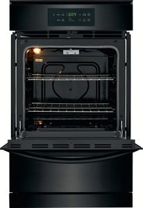 """FFGW2426UB Frigidaire 24"""" Single Gas Wall Oven with VariBroil Temperature Control and Easy To Use Ready Select Controls - Black"""