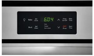 """FFGW2426US Frigidaire 24"""" Single Gas Wall Oven with VariBroil Temperature Control and Easy To Use Ready Select Controls - Stainless Steel"""