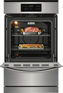 "FFGW2426US Frigidaire 24"" Single Gas Wall Oven with VariBroil Temperature Control and Easy To Use Ready Select Controls - Stainless Steel"