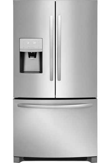 "FFHB2750TS Frigidaire 36"" 27.19 cu. ft. French Door Refrigerator with Multi Level LED Lighting and Dual Ice Ready - Stainless Steel"