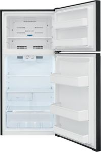 "FFHT1425VB Frigidaire 30"" 13.9 Cu. Ft. Top Freezer Refrigerator with Humidity-Controlled Crisper Drawers and Flexible Interior Storage System - Black"