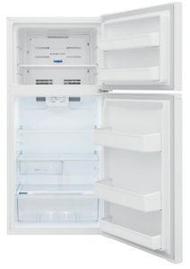 "FFHT1425VW Frigidaire 30"" 13.9 Cu. Ft. Top Freezer Refrigerator with Humidity-Controlled Crisper Drawers and Flexible Interior Storage System - White"