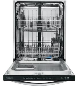 "FFID2459VS Frigidaire 24"" Built-In Dishwasher with BladeSpray Arm and 12 Place Settings - Stainless Steel"