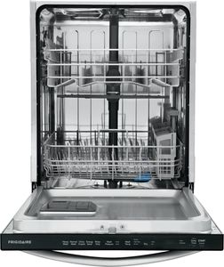 """FFID2459VS Frigidaire 24"""" Built-In Dishwasher with BladeSpray Arm and 12 Place Settings - Stainless Steel"""