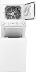 "FFLE3900UW Frigidaire 27"" Laundry Center with 3.9 Cu. Ft. Washer and 5.5 Cu. Ft. Electric Dryer - White"