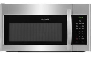 "FFMV1645TS Frigidaire 30"" 1.7 Cu. Ft. Over-The-Range Microwave with Multi-Stage Cooking and LED Lighting - Stainless Steel"