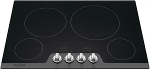 "FGEC3048US Frigidaire Gallery 30"" Radiant Smooth Electric Cooktop with Hot Surface Indicators and Quick Boil - Stainless Steel"