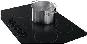 "FGEC3068UB Frigidaire Gallery 30"" Radiant Electric Cooktop with Ceramic Glass and Space Wise - Black"