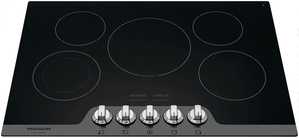 "FGEC3068US Frigidaire Gallery 30"" Radiant Electric Cooktop with Ceramic Glass and Space Wise - Stainless Steel"