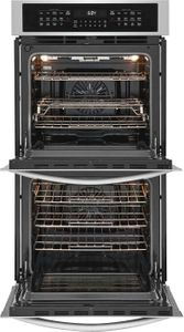"FGET2766UF Frigidaire 27"" Gallery Series Electric Double Wall Oven with Ready-Select Controls and Self-Cleaning - Smudge Proof Stainless Steel"