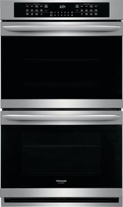 "FGET3066UF Frigidaire Gallery 30"" Electric Double Wall Oven with Ready-Select Controls and Self-Cleaning - Smudge Proof Stainless Steel"
