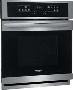 """FGEW2766UF Frigidaire 27"""" Gallery Series Electric Single Wall Oven with Self-Cleaning and Even Baking Technology - Smudge Proof Stainless Steel"""