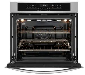 """FGEW3066UF Frigidaire 30"""" Gallery Series Electric Single Wall Oven with Self-Cleaning and Even Baking Technology - Smudge Proof Stainless Steel"""