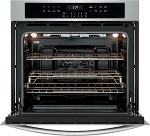 """FGEW3069UF Frigidaire Gallery 30"""" Electric Single Wall Oven with Air Fry and Steam Clean - Smudge Proof Stainless Steel"""