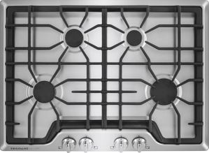 """FGGC3045QS Frigidaire Gallery 30"""" Gas Cooktop with Angled Front Controls - Stainless Steel"""