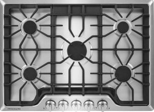 """FGGC3047QS Frigidaire Gallery 30"""" Gas Cooktop with Power Burner - Stainless Steel"""