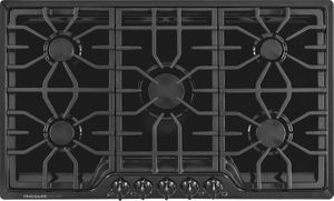 "FGGC3645QB Frigidaire Gallery 36"" Gas Cooktop with Power Burner - Black"