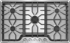 """FGGC3645QS Frigidaire Gallery 36"""" Gas Cooktop with Power Burner - Stainless Steel"""