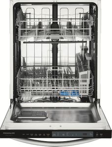 """FGID2476SF Frigidaire 24"""" Gallery Series Fully Integrated Dishwasher with OrbitClean and EvenDry - Stainless Steel"""