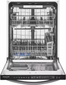 """FGID2479SD Frigidaire 24"""" Gallery Series Fully Integrated Dishwasher with OrbitClean and EvenDry - Black Stainless Steel"""