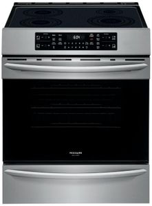 FGIH3047VF Frigidaire 30'' Induction Front Control Freestanding Range with Air Fry and True Convection - Smudge Proof Stainless Steel