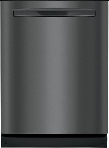 "FGIP2468UD Frigidaire 24"" Gallery Series Built In Pocket Handle Dishwasher with Dual Orbit Clean and 14 Place Settings  - Smudge Proof Black Stainless Steel"
