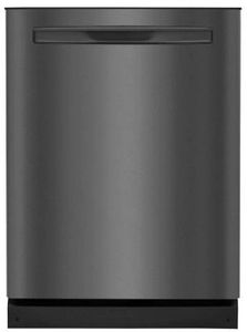 """FGIP2468UD Frigidaire 24"""" Gallery Series Built In Pocket Handle Dishwasher with Dual Orbit Clean and 14 Place Settings  - Smudge Proof Black Stainless Steel"""