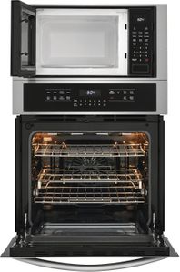"""FGMC2766UF Frigidaire 27"""" Gallery Series Electric Wall Oven/Microwave Combination with Steam Clean and Quick Preheat - Smudge Proof Stainless Steel"""