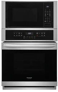 "FGMC2766UF Frigidaire 27"" Gallery Series Electric Wall Oven/Microwave Combination with Steam Clean and Quick Preheat - Smudge Proof Stainless Steel"