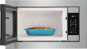 FGMO226NUF Frigidaire Gallery Built-In Microwave with Sensor Cook Options and OneTouch Keep Warm Setting - Smudge Proof Stainless Steel