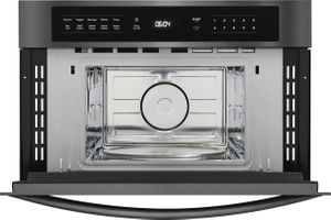 """FGMO3067UD Frigidaire 30"""" Gallery Series Built-In Microwave Oven with Interior LED Lighting and Effortless Reheat - Smudge Proof Black Stainless Steel"""