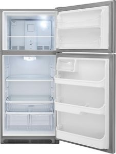"FGTR2037TF Frigidaire 30"" Gallery Series Top Mount 20.4 Cu. Ft.  Refrigerator with Humidity Controlled Crisper Drawers and SpillSafe Shelves - Stainless Steel"