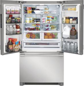 "FPBG2278UF Frigidaire 36"" Professional French Door 22.3 Cu. Ft. Counter Depth Refrigerator with SpacePro Shelving System and PureAir Ultra Filtration System - Smudge Proof Resistant Stainless Steel"