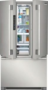 """FPBG2278UF Frigidaire 36"""" Professional French Door 22.3 Cu. Ft. Counter Depth Refrigerator with SpacePro Shelving System and PureAir Ultra Filtration System - Smudge Proof Resistant Stainless Steel"""