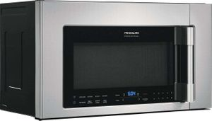 """FPBM307NTF Frigidaire 30"""" Professional 2.1 Cu. Ft. Over-The-Range Microwave with PowerBright Cooktop LED Light and PowerSense Cooking Technology - Smudge Proof Stainless Steel"""