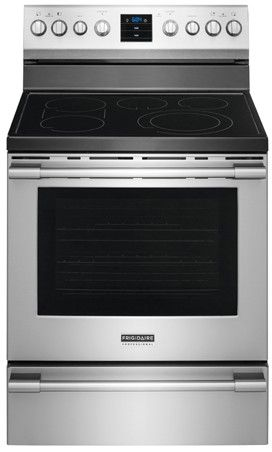 Fpef3077qf Frigidaire Professional 30 Freestanding Electric Range With Plus Convection Stainless Steel